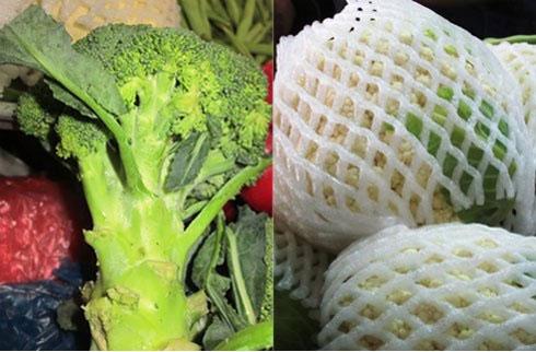 Bí quyết nhận diện rau củ Trung Quốc